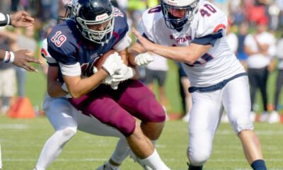 Lawrence Academy beats Belmont Hill on 2-point conversion in double OT