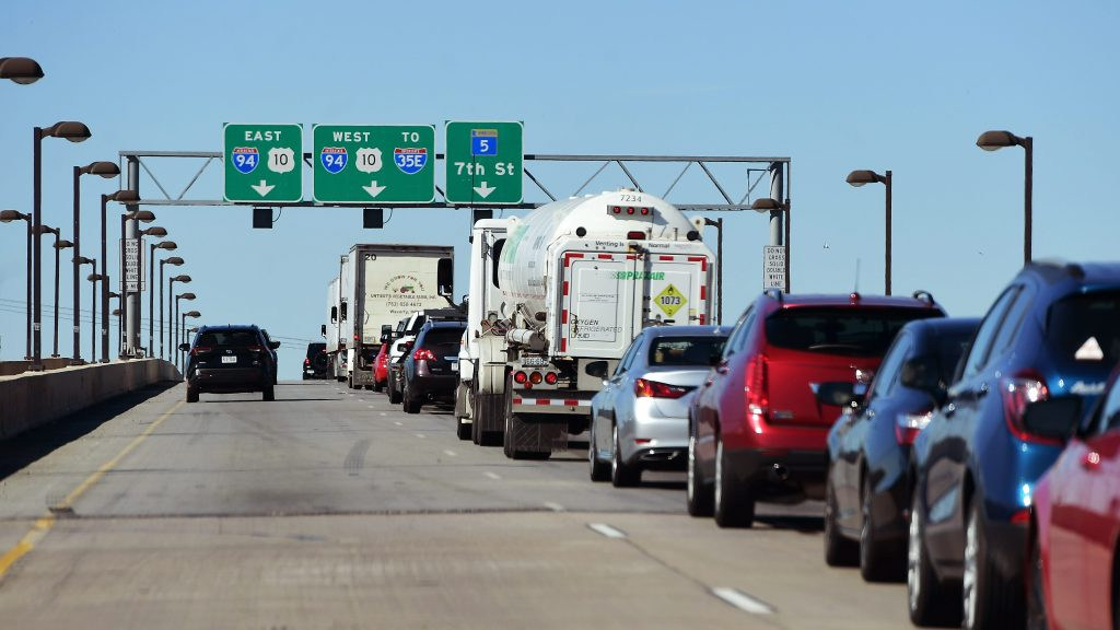 Yes, U.S. 52 north at Lafayette Bridge is always a mess. MnDOT has a plan.