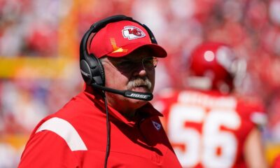 Andy Reid taken to hospital following Chiefs' loss to Chargers