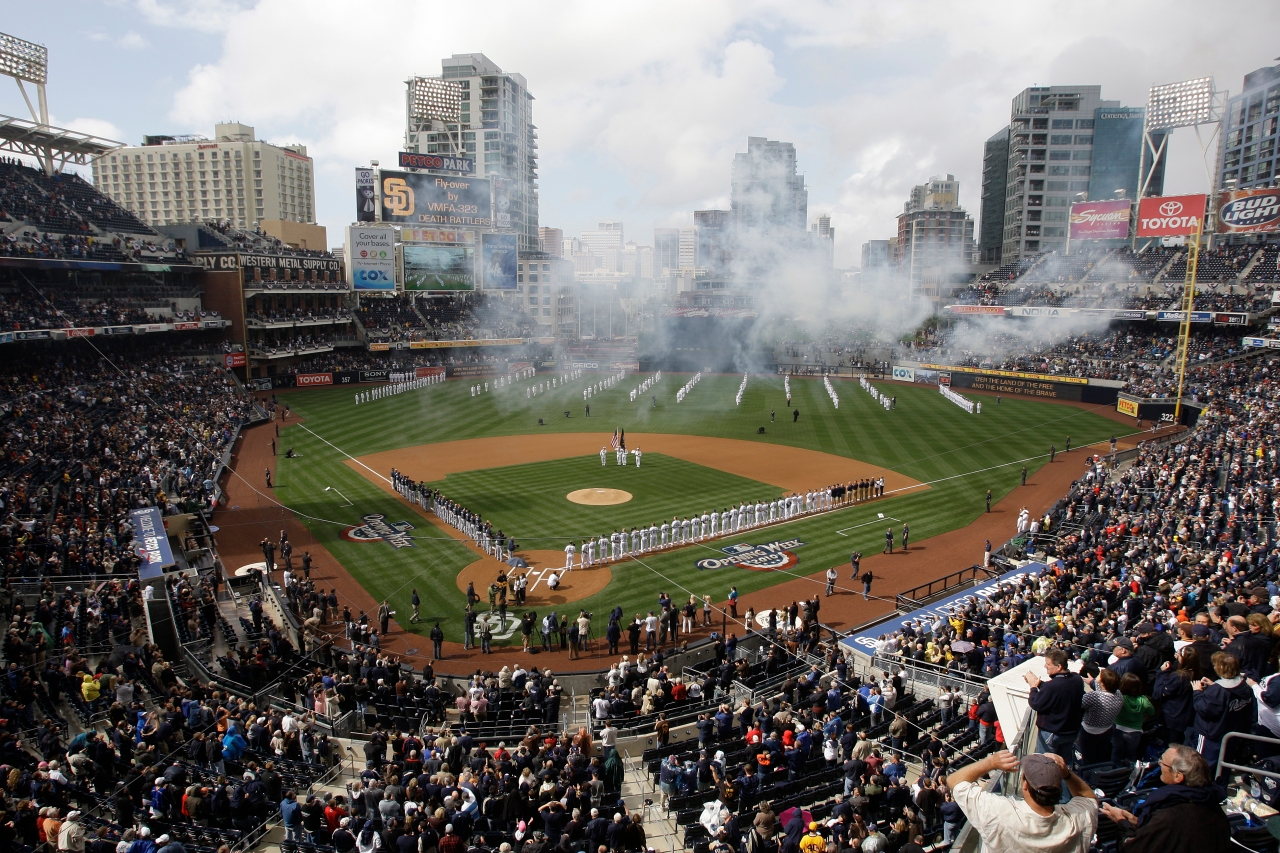 Mother, child die in 6-story fall at San Diego Padres game