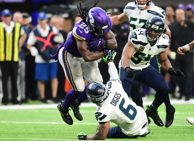 1632718614 354 Without injured Dalvin Cook Vikings swamp Seahawks 30 17 in home