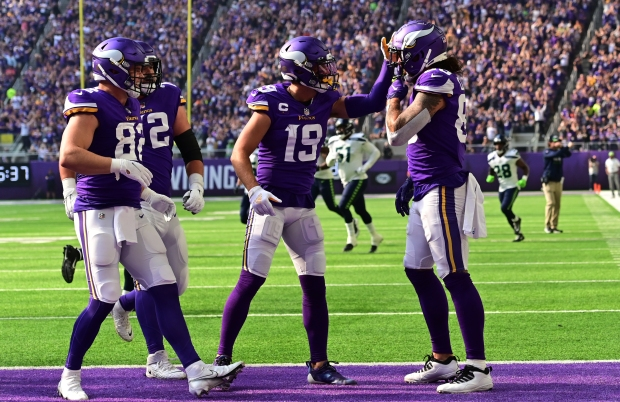 1632718616 521 Without injured Dalvin Cook Vikings swamp Seahawks 30 17 in home