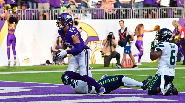 1632718617 36 Without injured Dalvin Cook Vikings swamp Seahawks 30 17 in home
