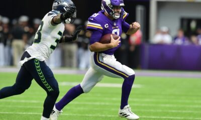 Mike Zimmer joins Kirk Cousins fan club after Vikings QB lights up Seahawks