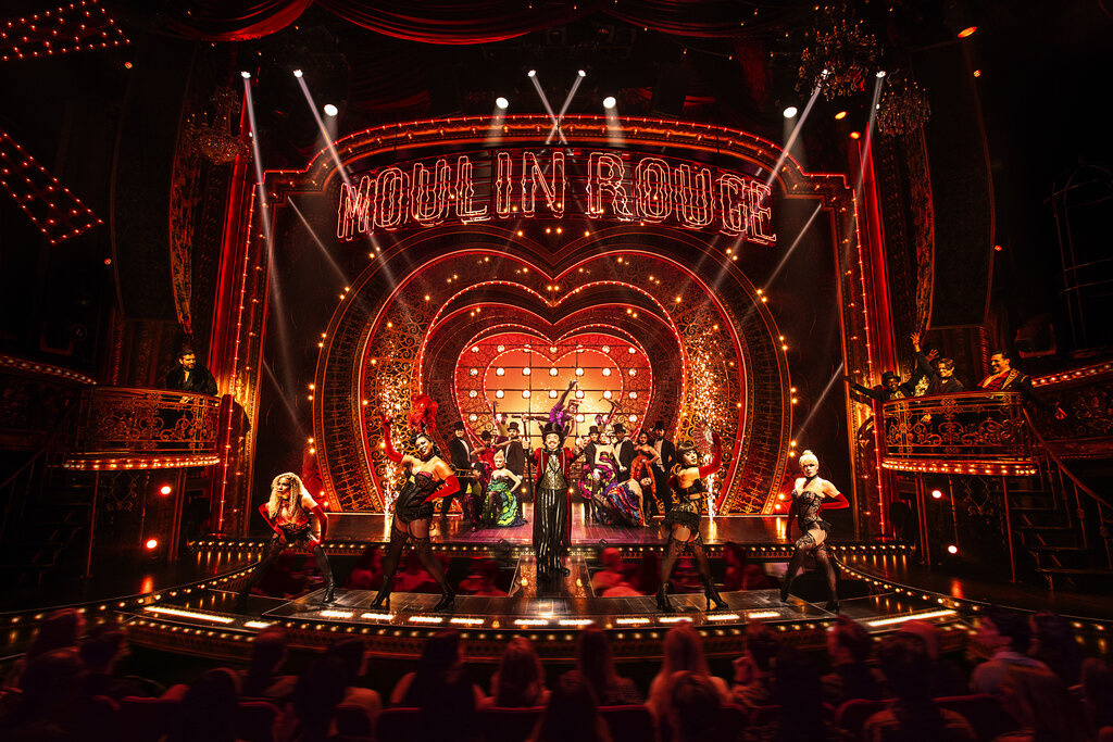 'Moulin Rouge! The Musical' sashays home with 10 Tony Awards as Broadway honors shows shuttered by COVID