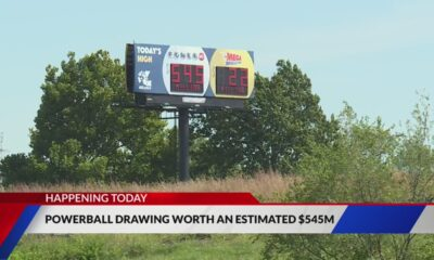 What are the odds of winning tonight's $545 million Powerball drawing?