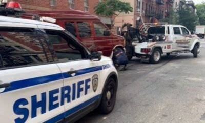 Vans operating as illegal Airbnbs in NYC impounded by NYC deputy sheriffs