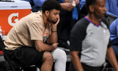 How Nuggets' Jamal Murray's competitive spirit still burns amid ACL rehab
