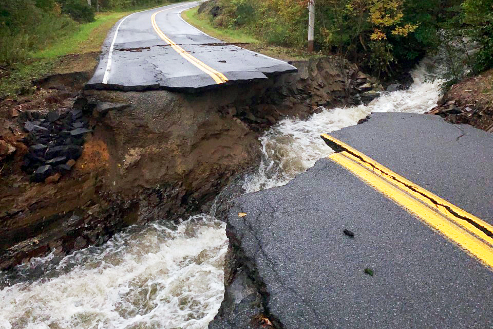 Part of Route 21 in Whitehall closed due to flooding