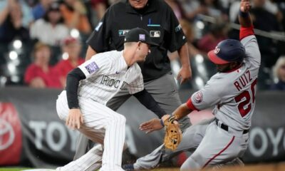 Reeling Rockies lose to Nationals, drop fifth straight at Coors Field