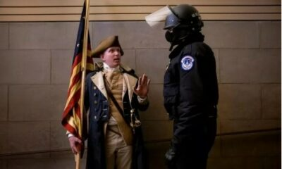 Missouri locksmith dressed as George Washington charged for role in Jan. 6th Capitol Insurrection