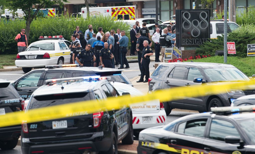 Maryland newspaper gunman gets more than 5 life prison terms