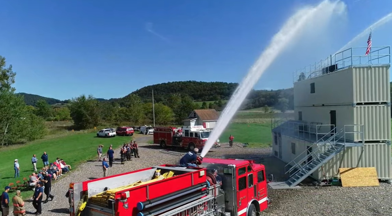 Argyle, Fort Edward fire departments no longer have to travel 28+ miles for training