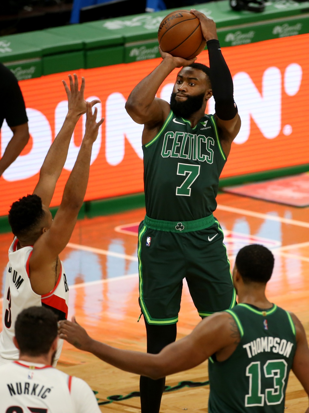 Celtics Notebook: Practice pace a sprint in early going