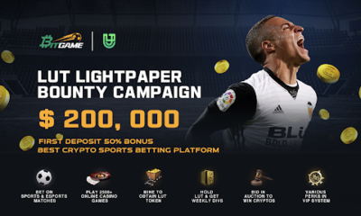Bitgame Launches LUT Lightpaper with a $200,000 Bounty Campaign