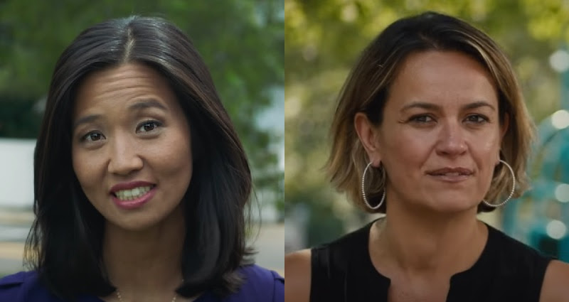 Boston mayor election has two women of color at the top