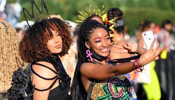 Divine Feminine Energy: A Gallery Of High Vibrating Hotties Who Stunned At Afropunk Atlanta