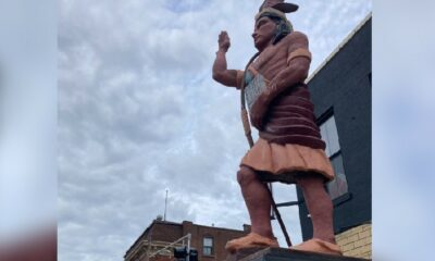 Native American statue removed from Cherokee Street