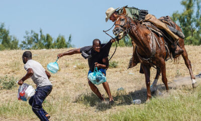 Outrage as border agents on horseback 'round up' Haitians for deportation; DHS tells Haiti's government to expect EIGHT flights per day