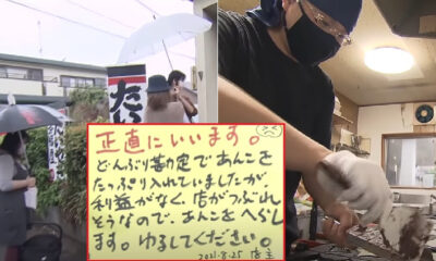 taiyaki store gets support