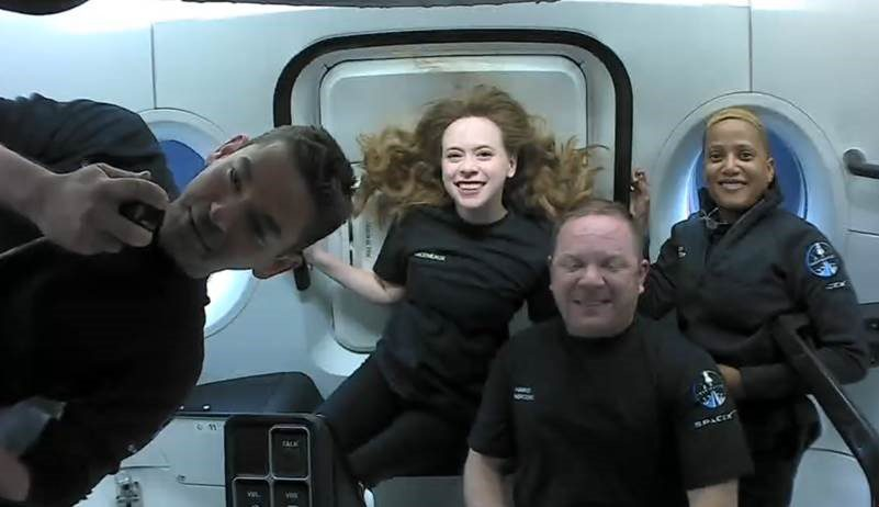 SpaceX Inspiration4 Completes First Day in Space: Take a Look Inside the Passenger Cabin