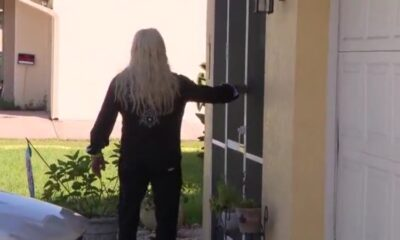 WATCH: Dog the Bounty Hunter shows up at Brian Laundrie's family home, knocks on door