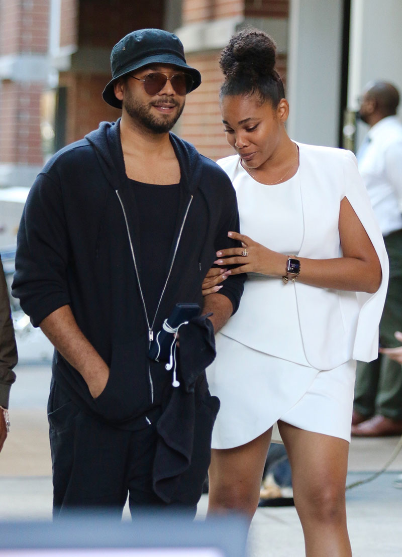 1633649473 272 PICS Jussie Smollett spotted with mystery woman after romantic dinner
