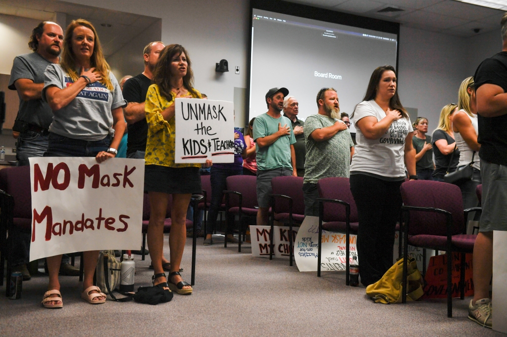 Douglas County's new health department may let students cast off masks in school