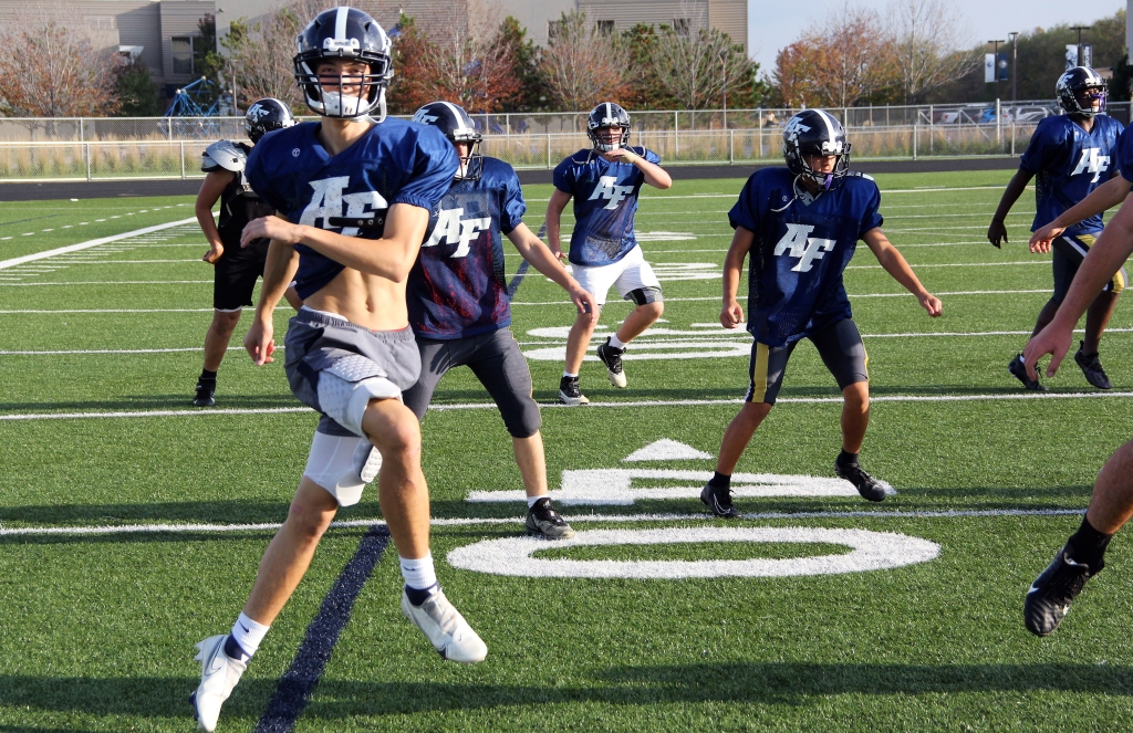 High school football: Academy Force's Peyton Gremmels is one of state's top-producing receivers