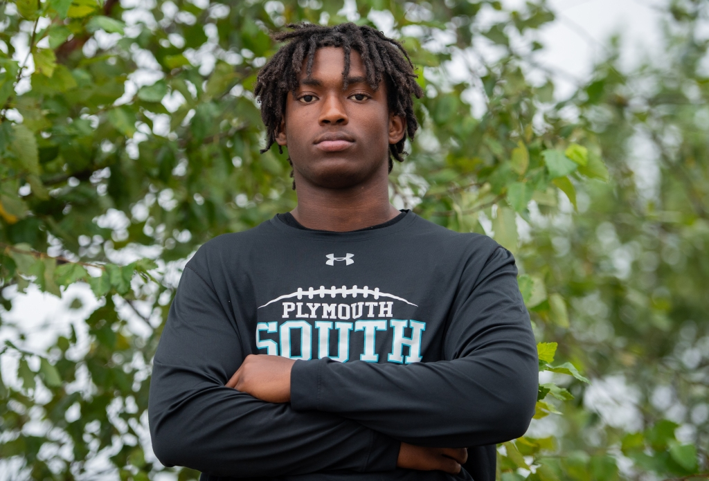Plymouth South RB Casious Johnson determined to succeed
