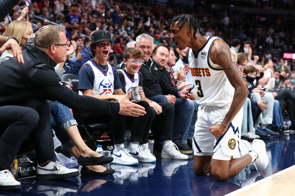 Bones Hyland erupts in Nuggets' overtime loss to T-Wolves