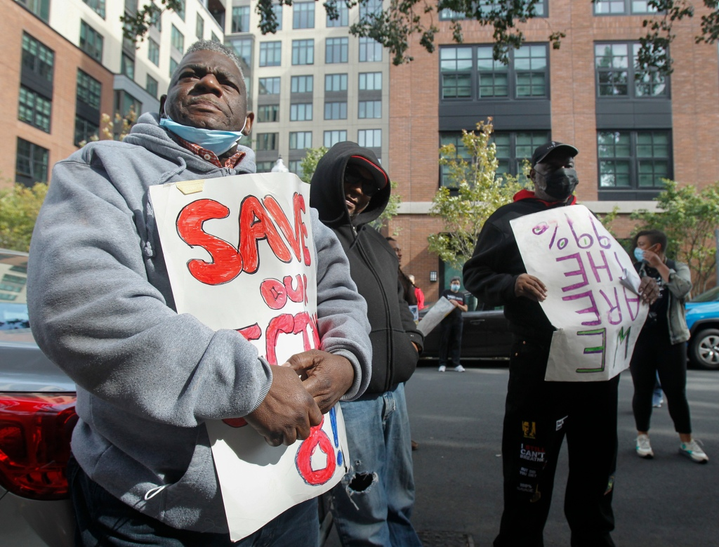 Activists call for pause on new luxury developments in Boston