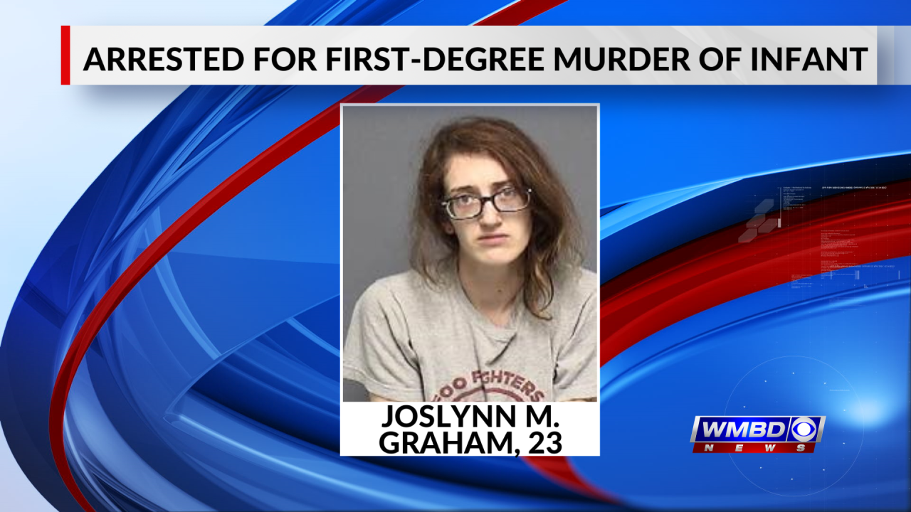 Illinois woman arrested for first-degree murder of five-month-old