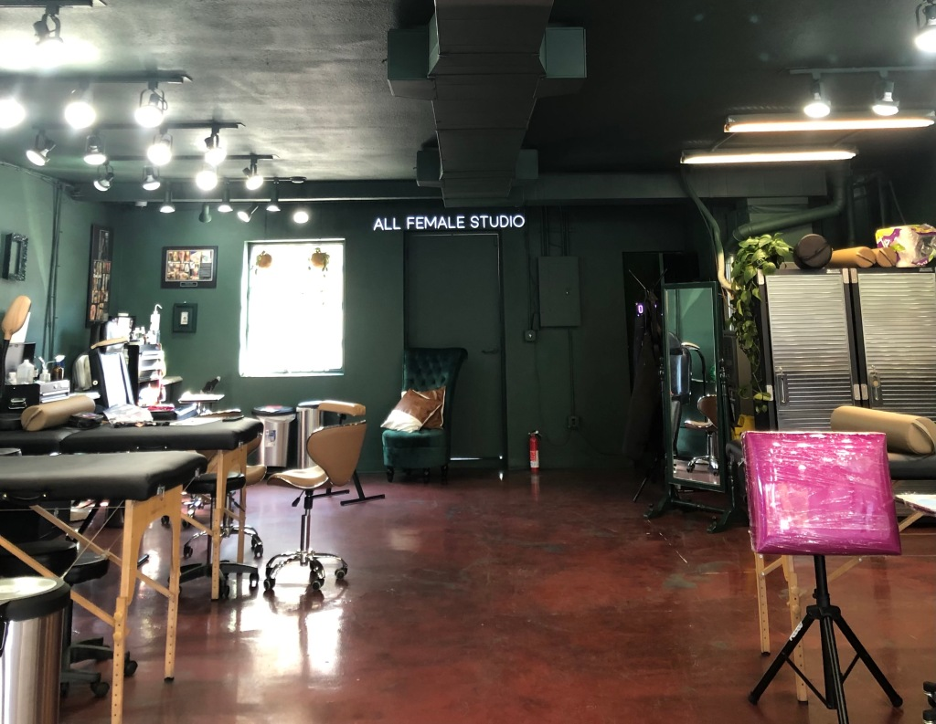 At this plant-filled Denver tattoo shop, every artist is either a woman or non-binary