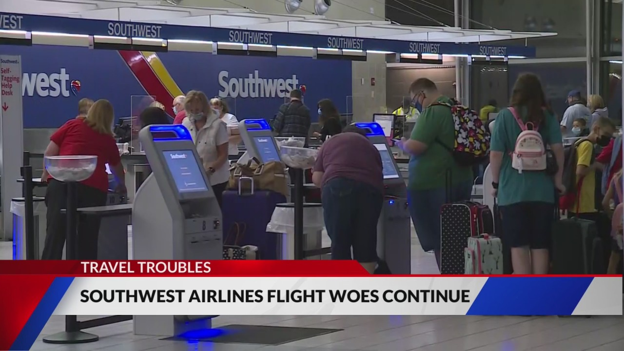 Airline issues: 25% of Southwest flights canceled this weekend