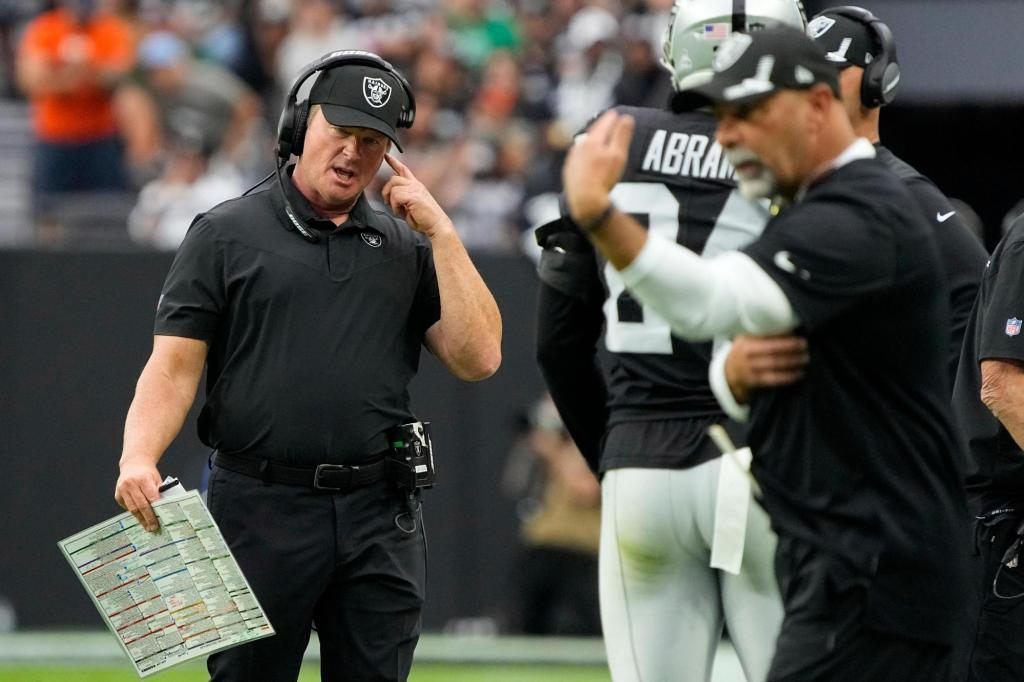 AP source: Gruden out as Raiders coach over offensive emails