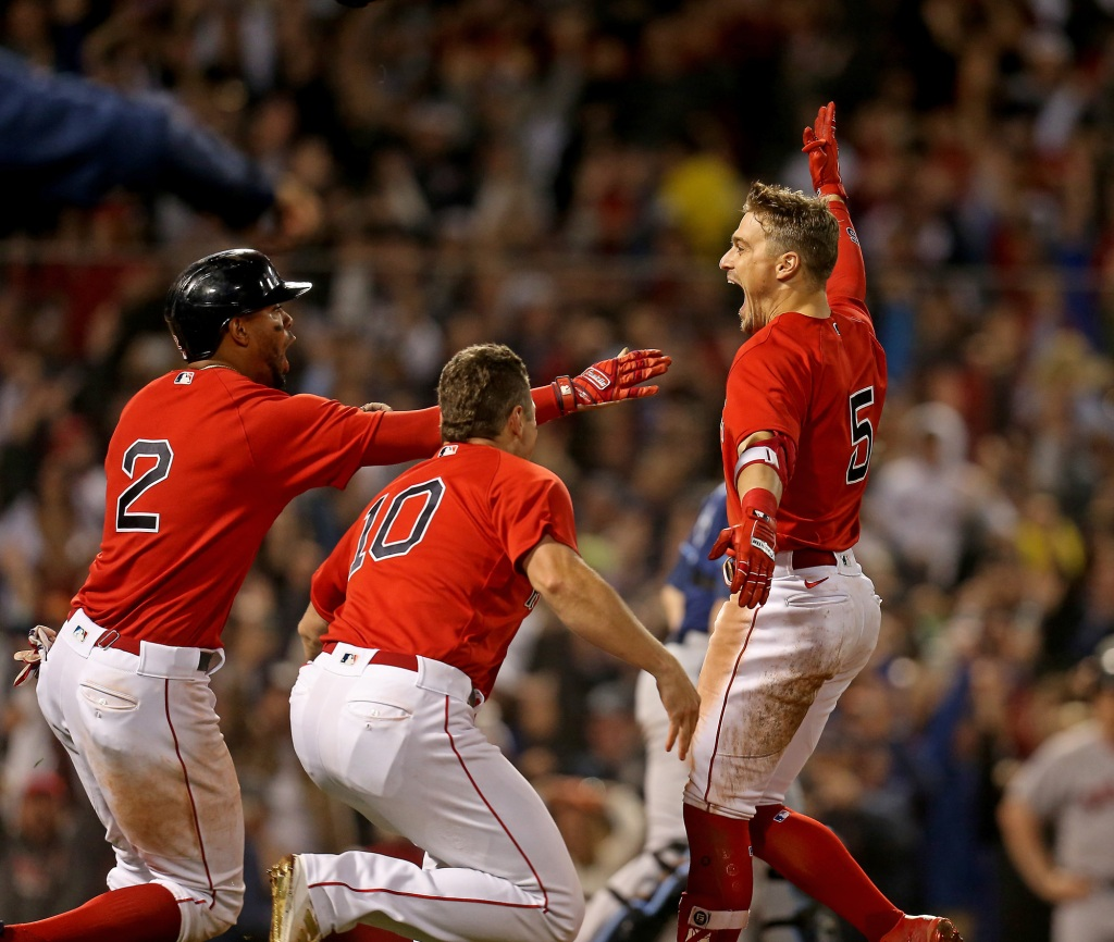 Red Sox advance to ALCS, eliminate defending AL champion Rays with thrilling walk-off victory