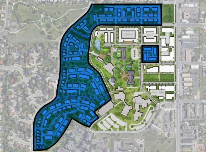 Homebuilder pays $14M for 25 acres of Loretto Heights campus