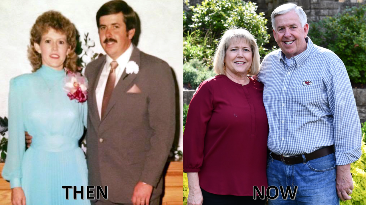 Governor Parson celebrates 36 years of marriage with First Lady Teresa Parson
