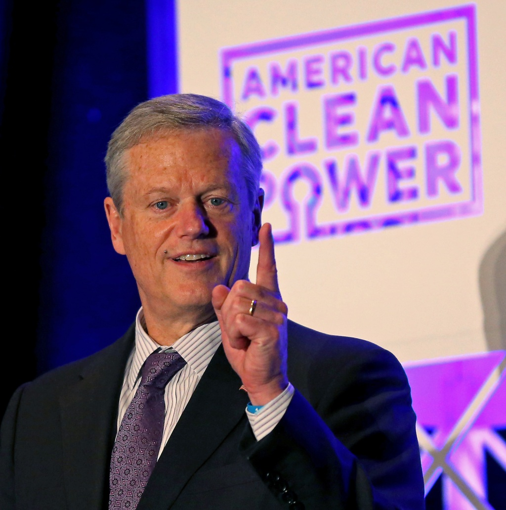 Charlie Baker proposes 'game-changing' offshore wind investment
