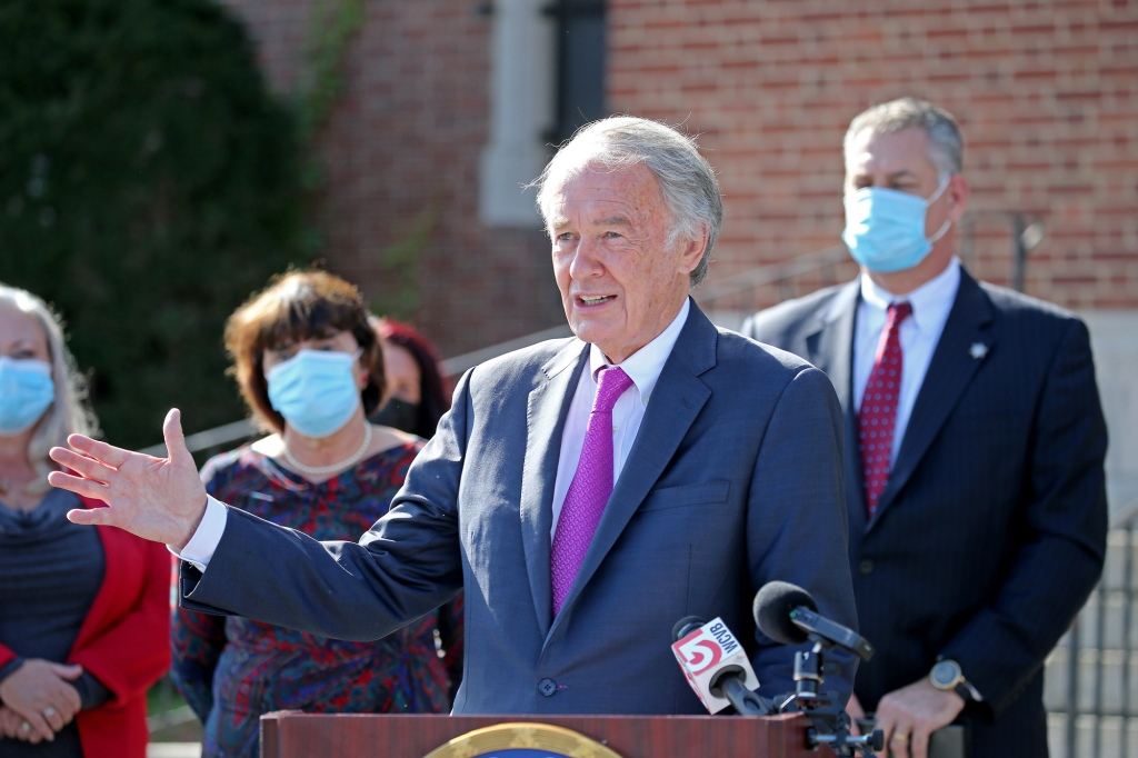 As opioid crisis worsens, Ed Markey pitches 2 bills to help inmates get treatment