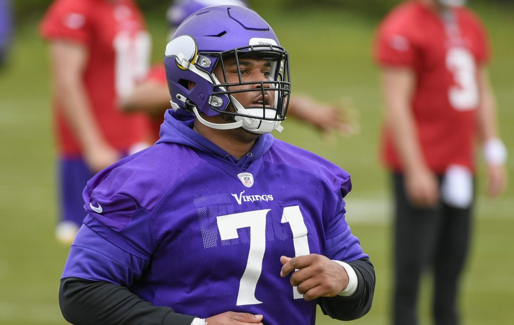 Vikings rookie tackle Christian Darrisaw relieved to get back on field with groin issues behind him