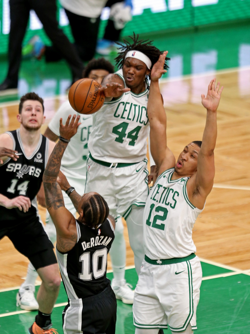 It's all about staying on the court for Celtics' Rob Williams