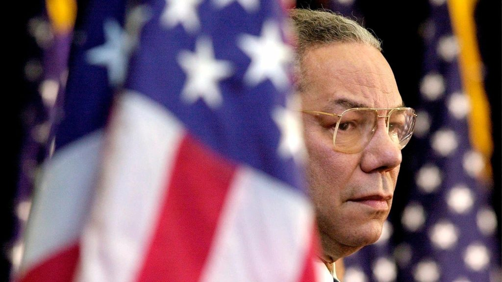 Colin Powell, exemplary general stained by Iraq claims, dies