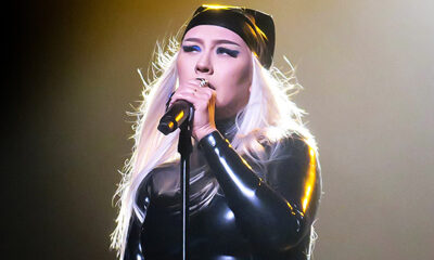 Christina Aguilera Wears Patent Leather Catsuit For Sexy 'Pa' Mis Muchachas' Video — Watch