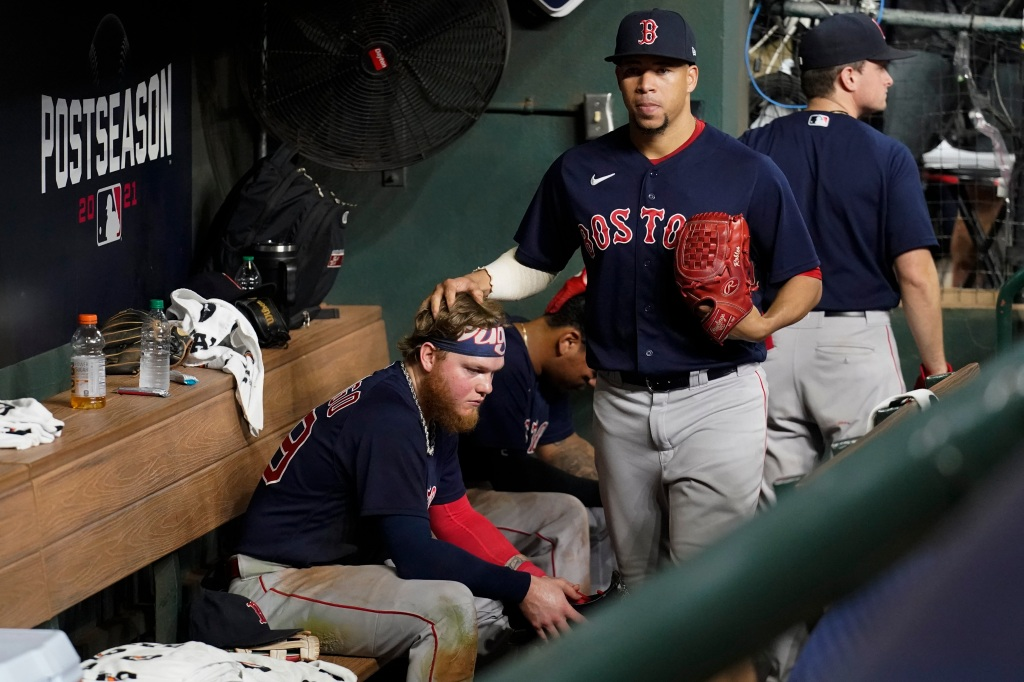 Despite ALCS loss, Red Sox express positive attitude: 'We proved a lot of people wrong'