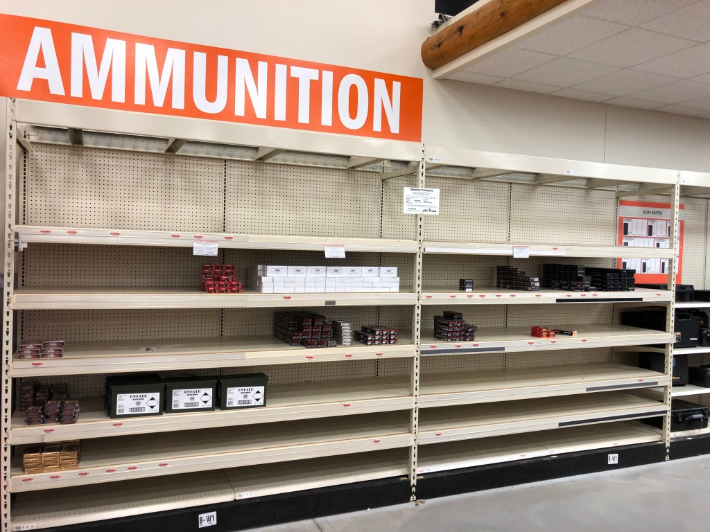 Ammunition shortage drags on for second hunting season