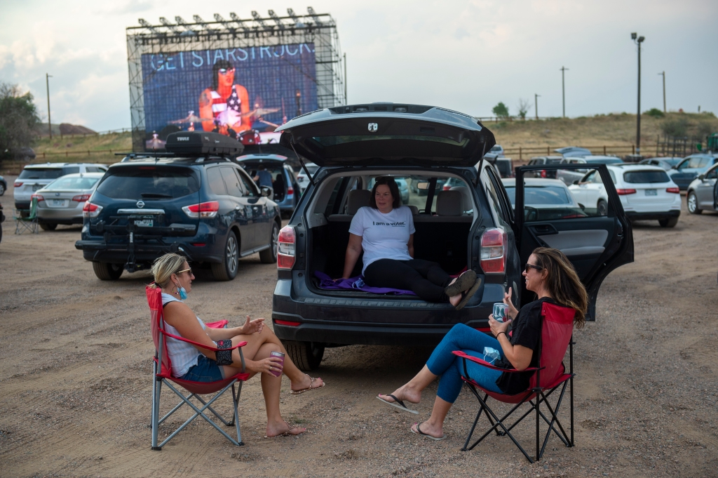"""New Christmas movie drive-in at Red Rocks to screen favs from """"Love Actually"""" to """"Die Hard"""""""