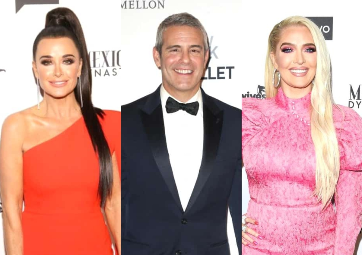 """Kyle Richards Says Andy Cohen Was """"Relentless"""" Against Erika Jayne at RHOBH Reunion, Explains Why Some of Her Stories Were """"Confusing"""""""