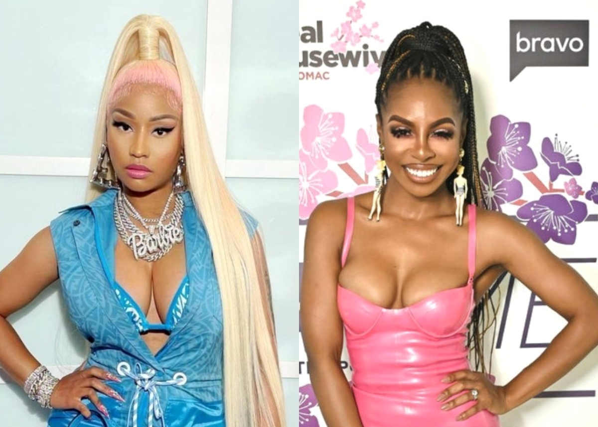 """Nicki Minaj """"Came Hard"""" for Candiace Dillard During """"Epic Moment"""" at RHOP Reunion After Shocking Cast With Appearance, See How Mia Thornton Reacted"""